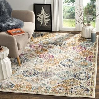 Shop for Safavieh Madison Bohemian Vintage Cream/ Multi Distressed Rug (8' x 10'). Get free shipping at Overstock.com - Your Online Home Decor Outlet Store! Get 5% in rewards with Club O! - 19447854