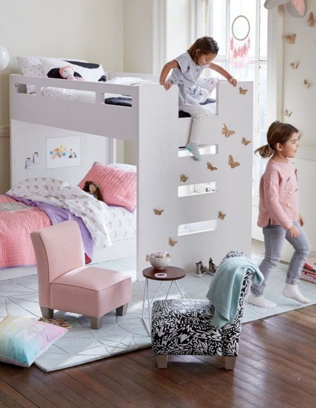 Abridged White Glaze Low Twin Bunk Bed Crate And Barrel Twin Bunk Beds Bunk Beds Bunk Beds For Girls Room