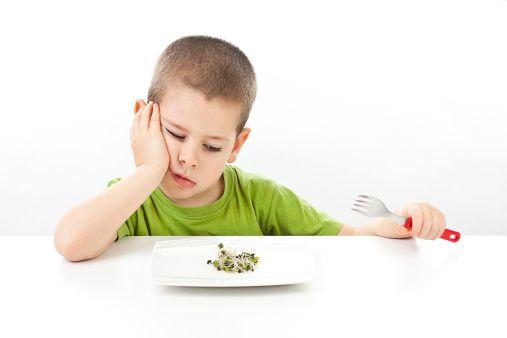 Aspergers Eating Same Food