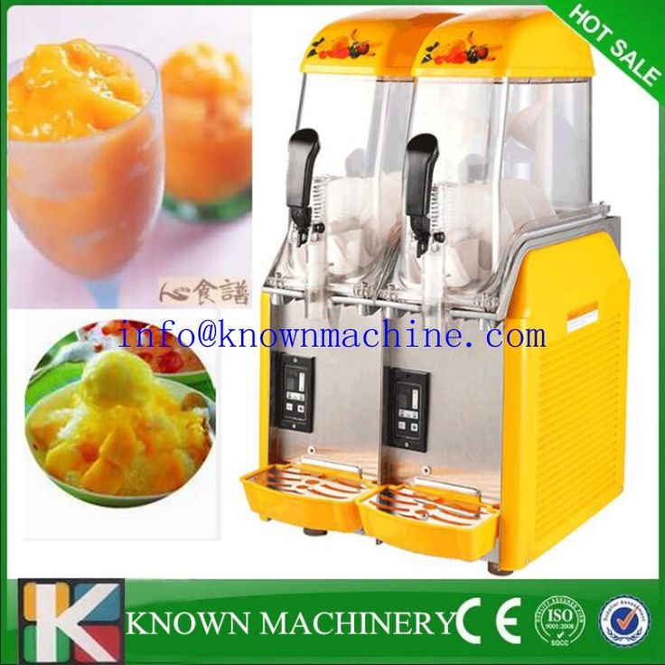 Double Tank Commercial Slush Machine For Sale/cheap slush machine/slush puppy machine