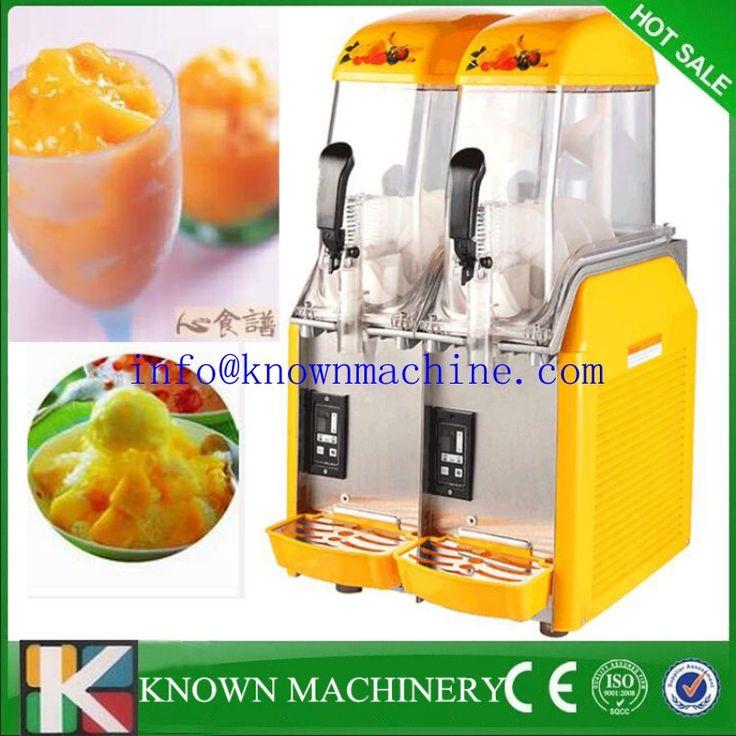 Double Tank Commercial Slush Machine For Sale/cheap slush machine/slush puppy machine