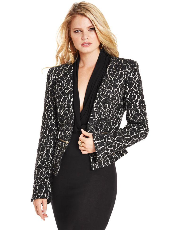 Trullie Leopard-Print Jacket