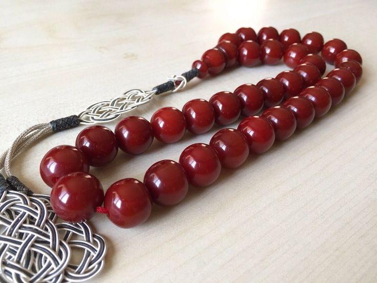 Islamic Prayer Beads Tesbih Gebetskette Aus Bernstein | eBay