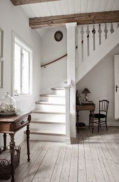 Image result for floor to ceiling newel post