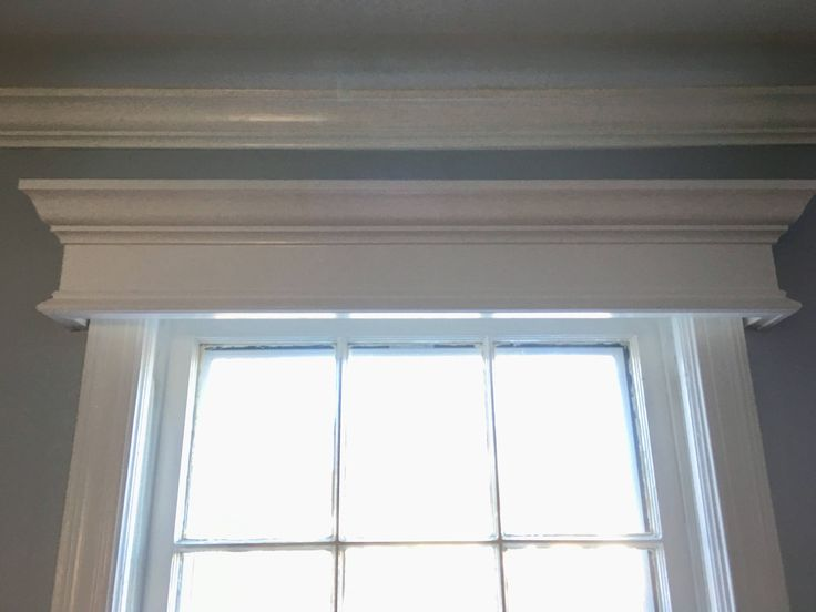 Custom Made Wood Window Valance Cornice by PyneCrafts on Etsy https://www.etsy.com/listing/573694256/custom-made-wood-window-valance-cornice