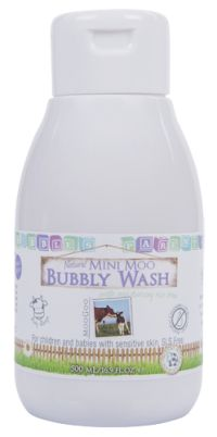 Natural Mini Moo Bubbly Wash - Baby Range | MooGoo Skincare