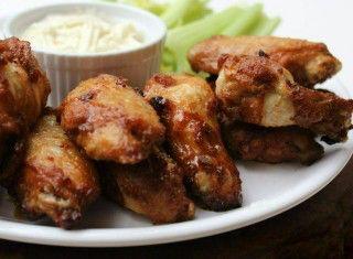 Chicken wings (pollo fritto piccante)