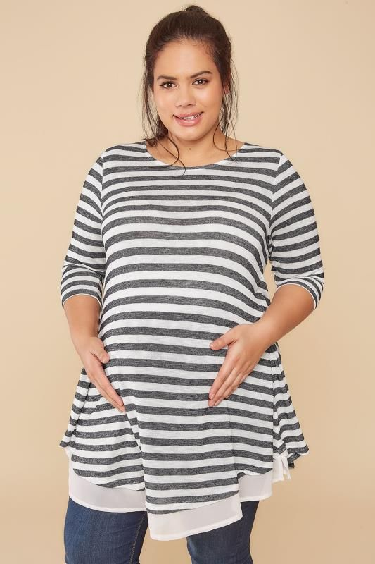 Shopping guide for plus size maternity clothing