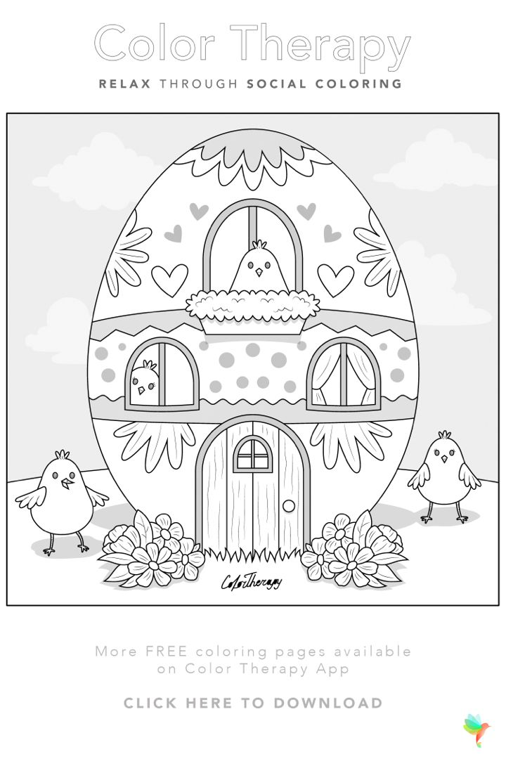 Color Therapy Gift Of The Day Free Coloring Template Coloring Book Art Coloring Pages Free Coloring Pages