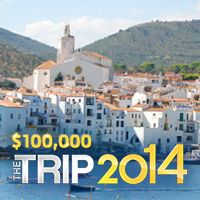 A trip to Spain and Morocco or cash prize. Your choice!