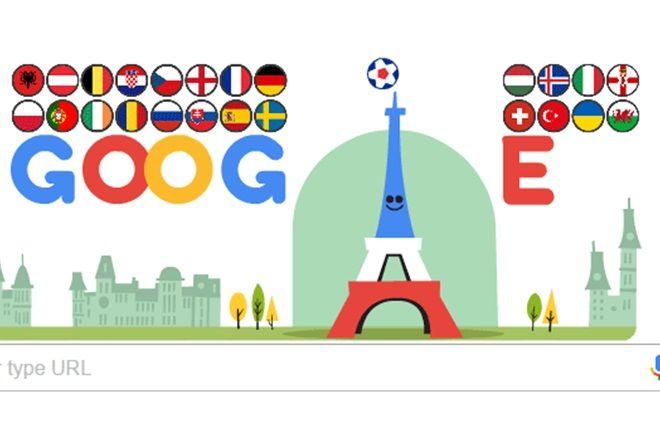 Google doodle marks Euro 2016 start, shows Eiffel Tower's football skills - http://thehawk.in/news/google-doodle-marks-euro-2016-start-shows-eiffel-towers-football-skills/