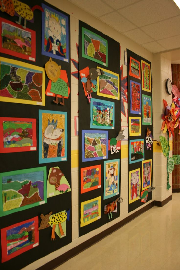 This is how my hallways should look- it's an HSES Arty Party!
