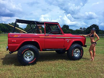 1974 Bronco 302 4x4 Off Road Lifted Early Ford Ranger Classic - Used Ford Bronco for sale in Oviedo, Florida | Trucks2Cars.com