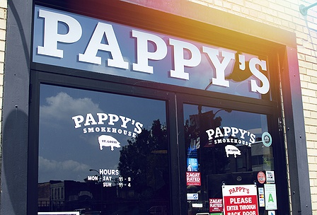 Man Vs Food Pappy S