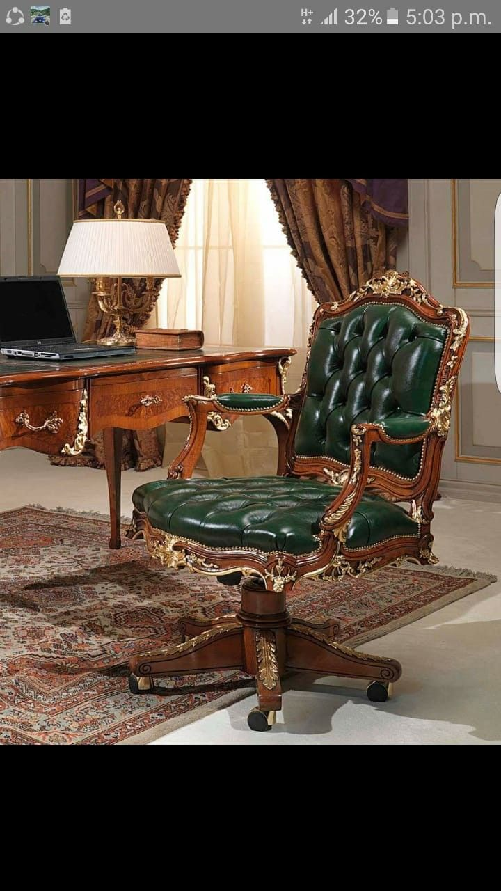 Pin By Hamidreza On Mueble Clasico Furniture Chair Ideal Home
