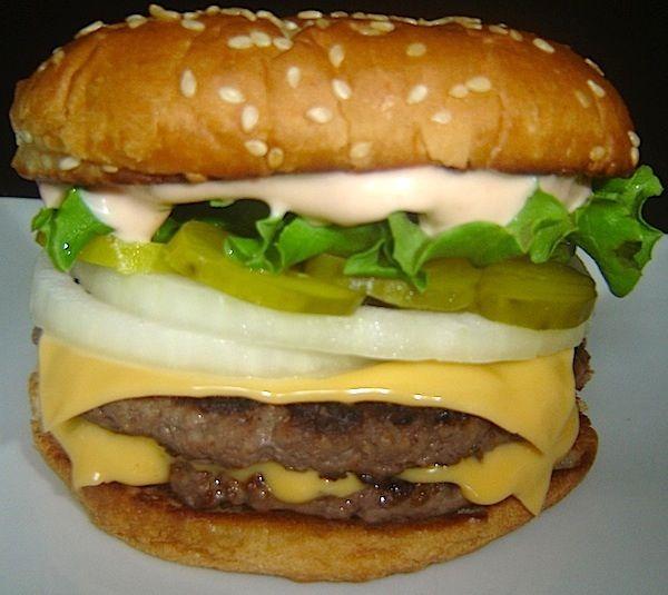 Top Secret Recipes   Burger King Big Kin Reduced Fat Copycat Recipe