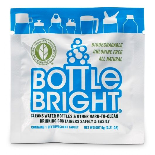 Bottle Bright is amazing stuff! Actually cleans your coffee mugs, water bottles, baby bottles safely, and so so easy. We're obsessed.