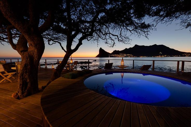 www.sunsafaris.com #hot #tub  #deck #Tintswalo #Atlantic #Hout Bay #Cape #Town #beach #south #africa