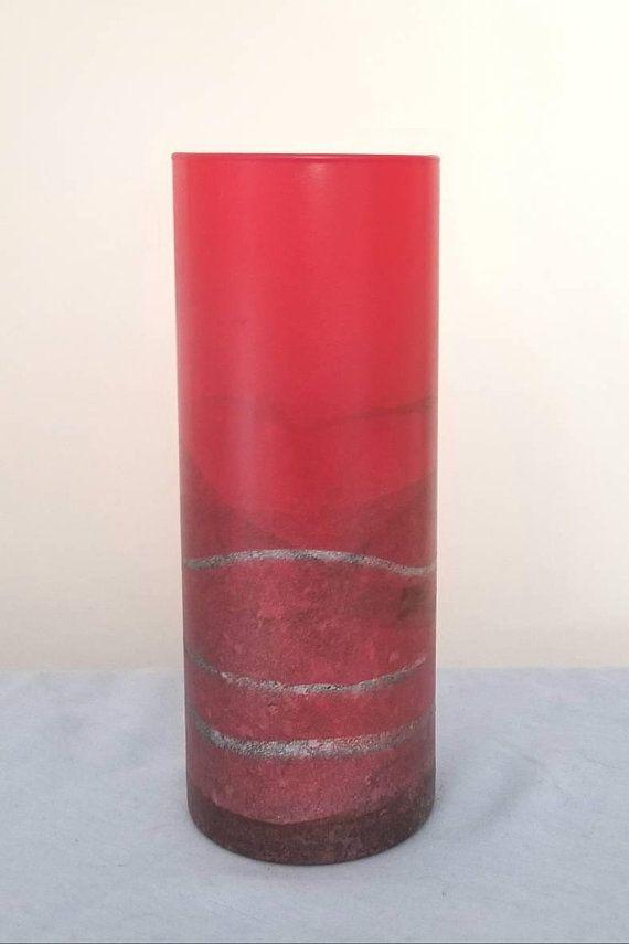 Tall Red Vasered Vase Free Shippingtall Vasered Gray Vasetall