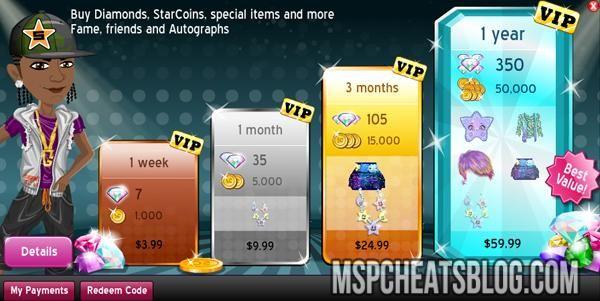 how to get free diamonds on moviestarplanet