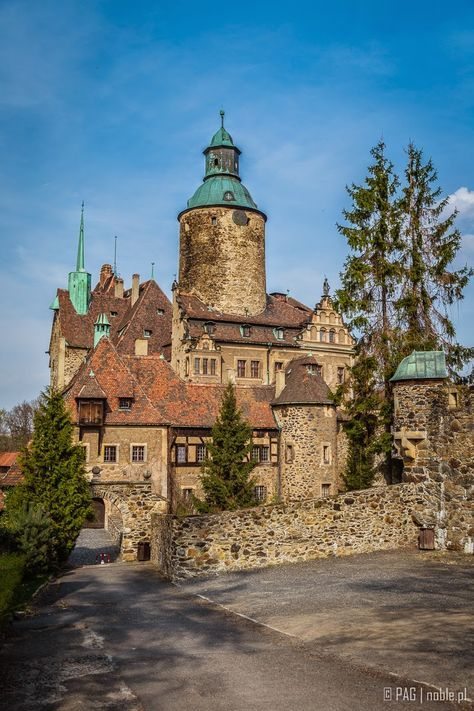 Czocha Castle (Schloss Tzschocha), Lower Silesia, Poland