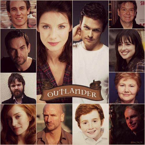 outlander tv series | ... couple Jamie & Claire from the Outlander series by Diana Gabaldon