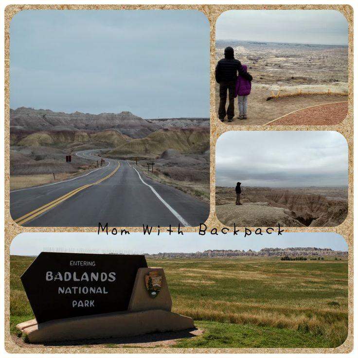 Big painted hills in the prairie