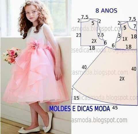 Connu Oltre 25 idee originali per Modelli di vestiti da bambino su  XW92