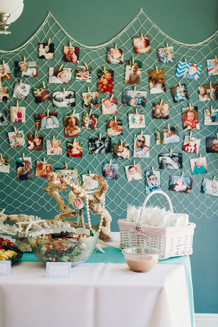 Omg we can do a fish net photo wall of everyone with her and all the pics we all have!!