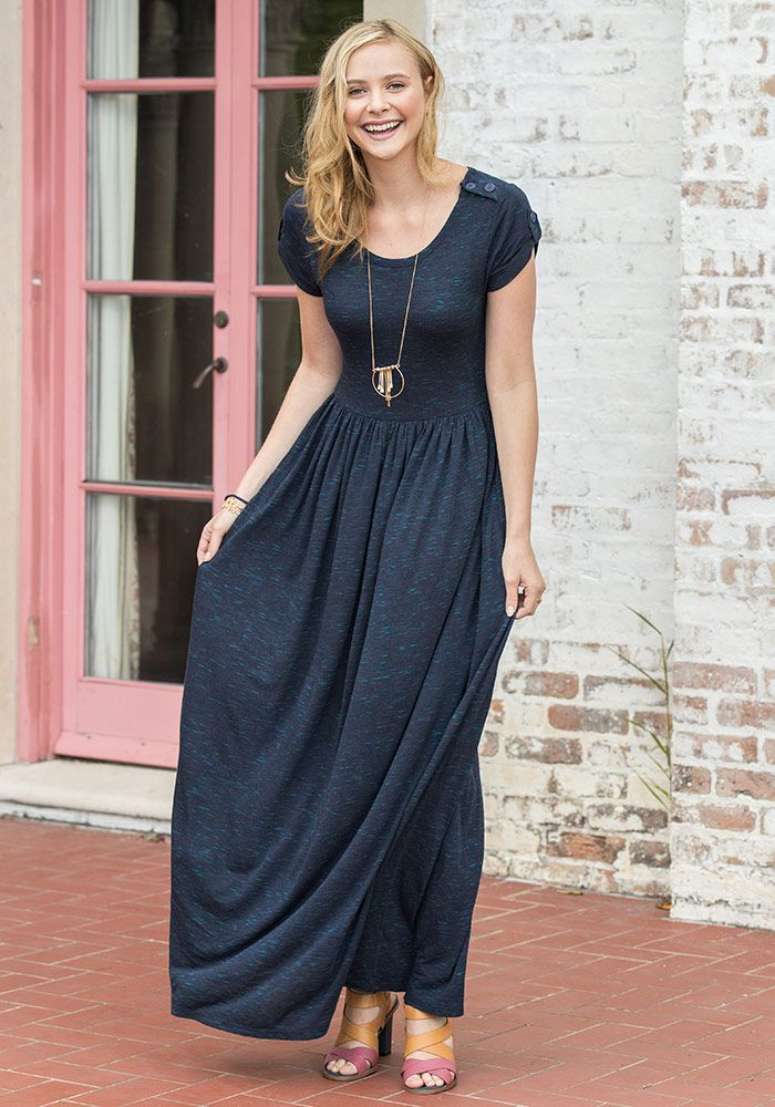 7b4460e244b98 Deep Water Maxi Dress - Matilda Jane Clothing | Mom Style in 2019 ...