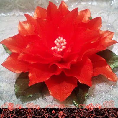Poinsettia Merah: Bunga Pita Bakar Ala Susindra
