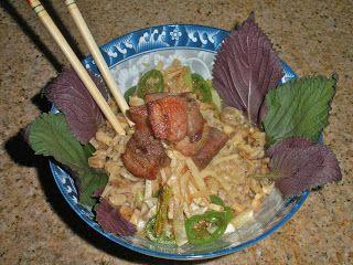 Chef JD's Noodle House Cuisine: Ramen Noodles with Kohlrabi, Perilla, Periwinkles ...