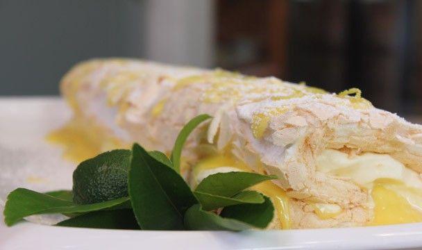 Lemon Meringue Roll