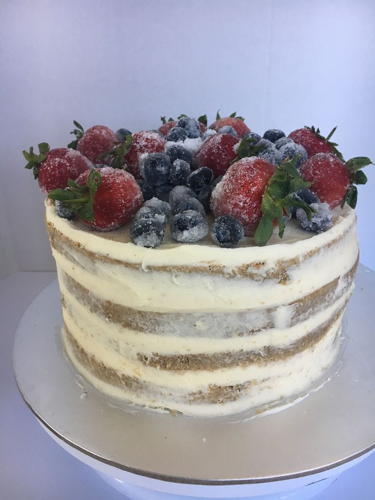 Bevan's - gingerbread cake with fruit