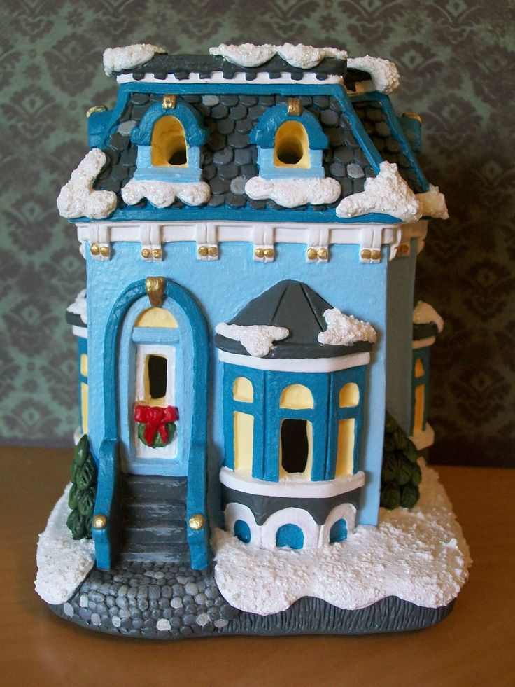 1000 images about plaster village on pinterest for Bisque ceramic craft stores