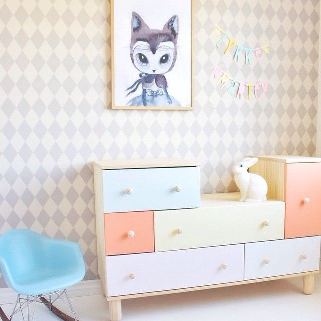 3 ideas para customizar la Cómoda PS 2012 de Ikea - DecoPeques