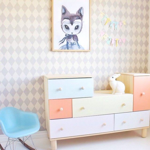 Las 25 mejores ideas sobre organizaci n de la habitaci n - Comodas de bebe ikea ...