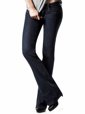 Short women should select jeans styles that flatter their figures and make them look longer and leaner.: Boot Cut Jeans for Curvy Short Women