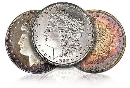 The Morgan silver dollar, minted between 1878 and 1921, has no real peer in the numismatic world. It is by far the most widely collected and traded numismatic coin in the world. Attend any coin show and you will quickly see that slabbed and raw Morgan dollars are everywhere.