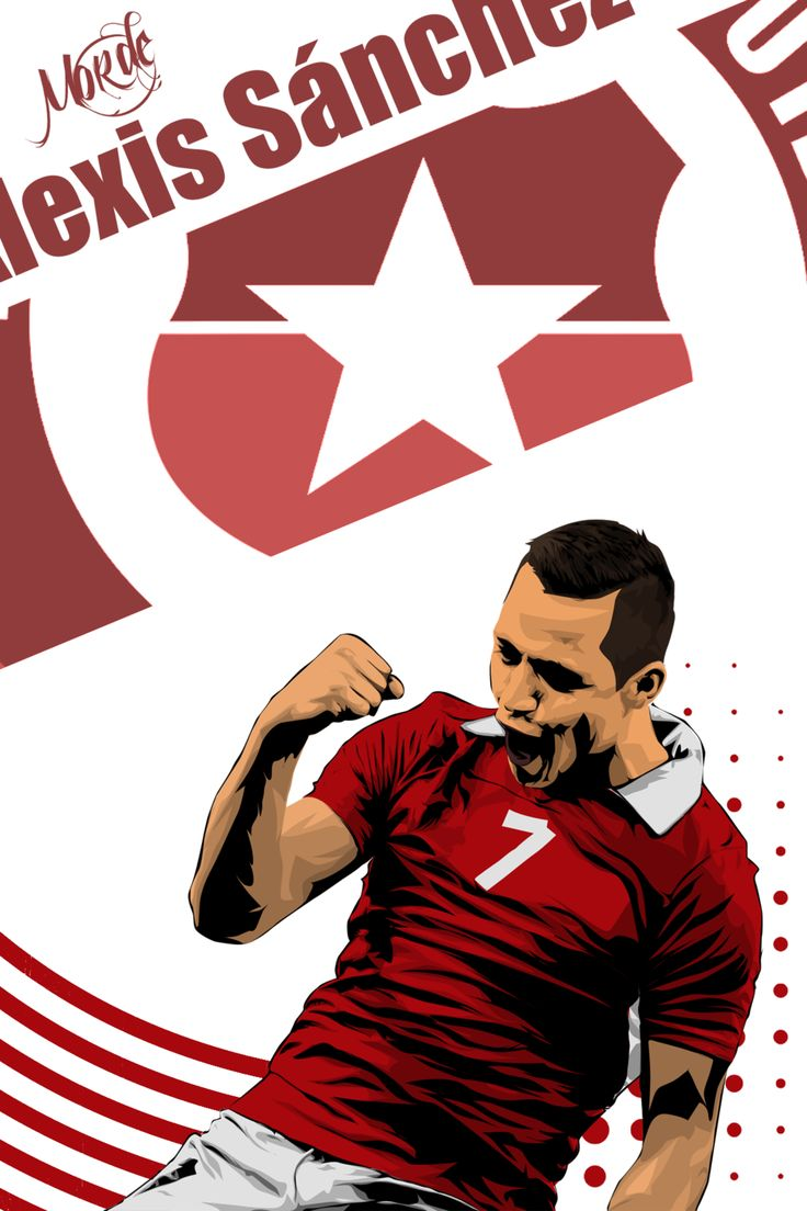 Alexis Sanchez World Cup 2014 by MordeArt