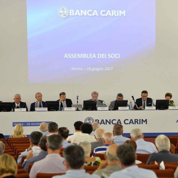 Assemblea dei Soci in data 28 giugno 2017 #soci #azionisti #bancacarim #assemblea #rimini #2017 #instagram #bancacarim