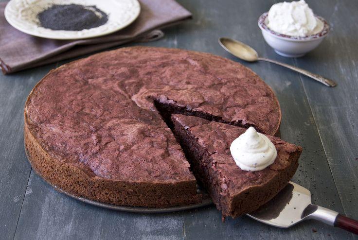 Zázvorový čokoládový koláč