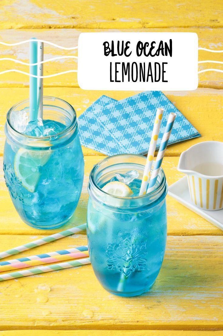 Blue Ocean Lemonade Zitrone Blau Limonade Sprite Drink Rewe Drink Getrank Zitrone Kinder Cocktail Getranke Alkoholfrei Kindercocktails