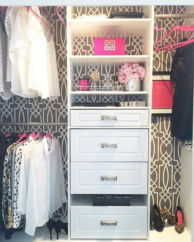 Check Out How @kasiaw_designs Completely Made Over Her Closet