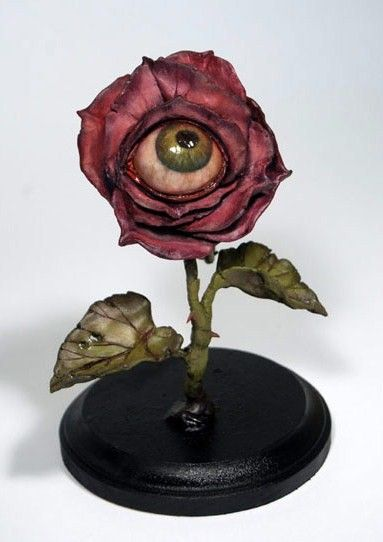 """""""Isn't this GORGEOUS!!??!!?? We can buy a """"realistic"""" eyeball and distress it! Lets shoot for 8? How much do you think it would cost?""""--"""
