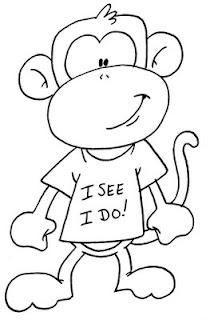 Monkey, I see, I do