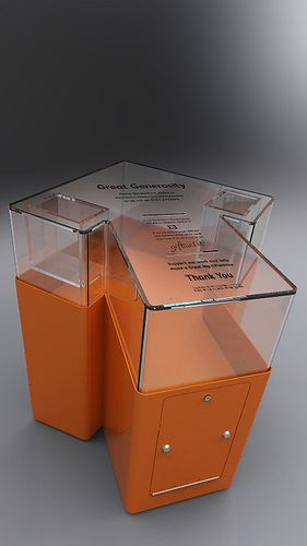 Custom Exhibition Stand Near Me : Best donation boxes ideas on pinterest box