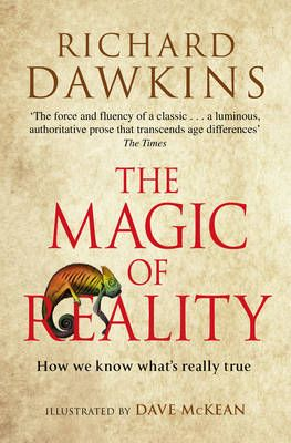 Our next #brainybk is a double whammy: The Magic of Reality by Richard Dawkins...