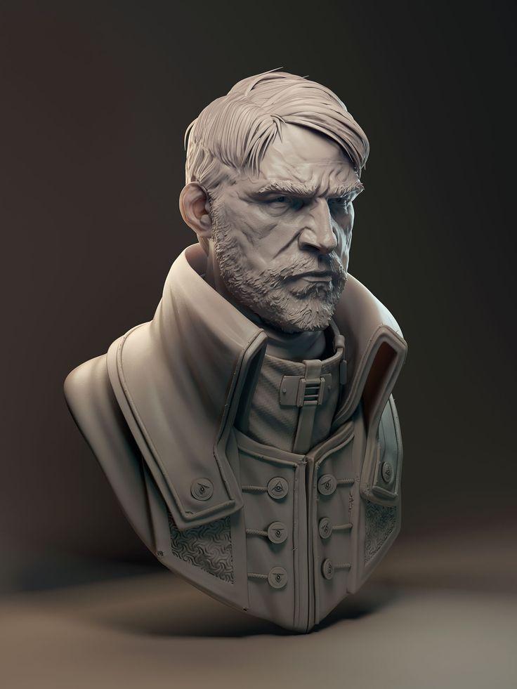 JamesWCain — Corvo. An older and much wiser Corvo - Dishonored fanart