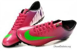 Nike bright colour Boots.